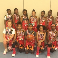 6th Grade Girls East Coast Chamnpions, Spooky Nook Tournament
